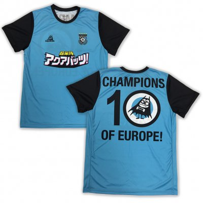 The Aquabats - EU Soccer Jersey (Blue/Black)