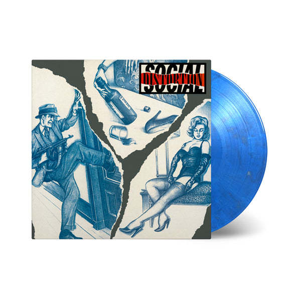 Social Distortion – Social Distortion LP (Blue & Silver Swirl)