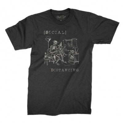 Social Distancing T-shirt (Black)