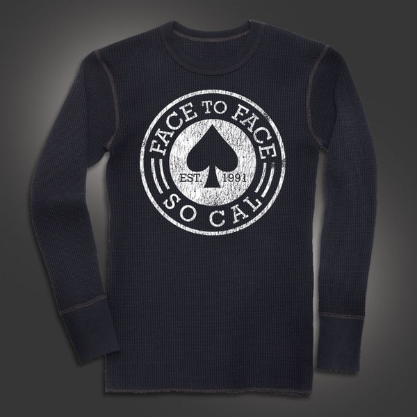 Face To Face - Spade Longsleeve Thermal