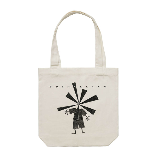 Wil Wagner - Spiralling Tote Bag