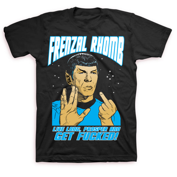 Frenzal Rhomb - Spock T-shirt (Black)