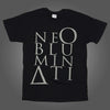 Ne Obluminati Stacked Logo T-shirt (Black)