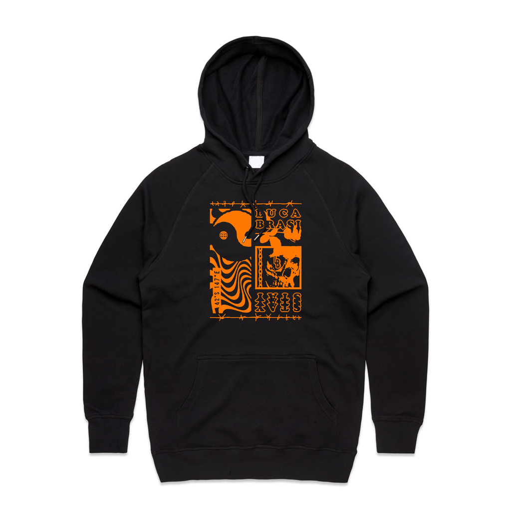 Luca Brasi - Stay Collage Hoodie (Black)
