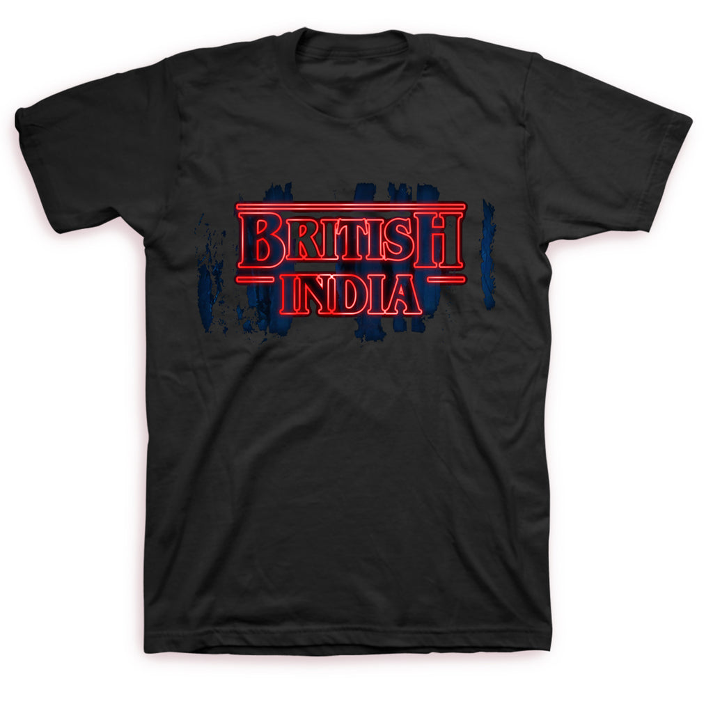 British India - Stranger Logo T-shirt (Black)