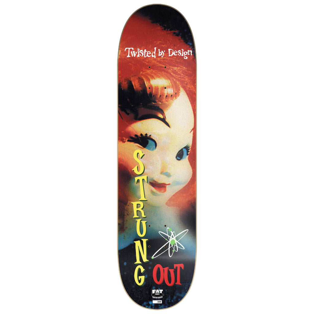 Strung Out - Twisted By Design Skate Deck (Limited Edition)