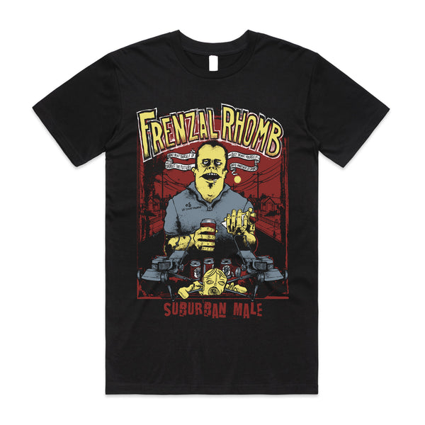 Frenzal Rhomb - Suburban Male T-Shirt (Black)
