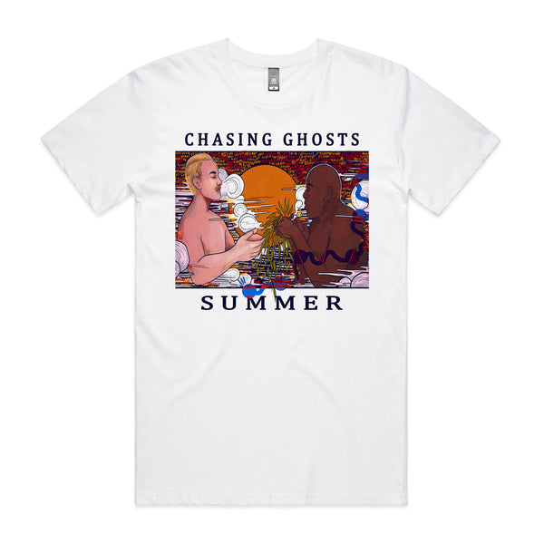 Chasing Ghosts - Summer Tee (White)