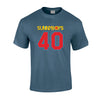 Sunnyboys - 40 T-shirt (Blue) front