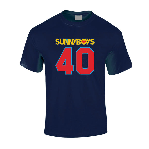 Sunnyboys - 40 Womens T-shirt (Navy) front