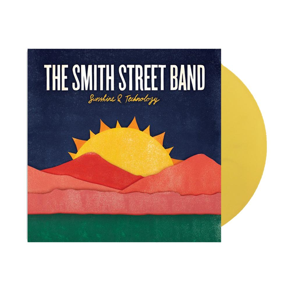 The Smith Street Band - Sunshine & Technology LP (Transparent Yellow)