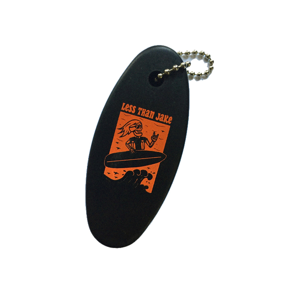 Surfer Floating Keychain