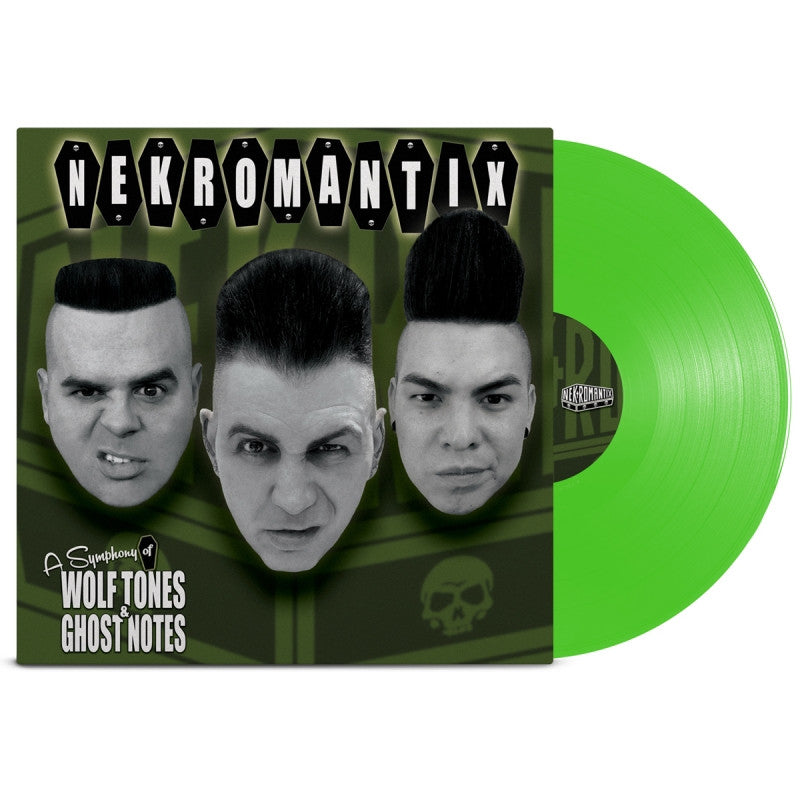 Nekromantix - A Symphony of Wolf Tones LP Green