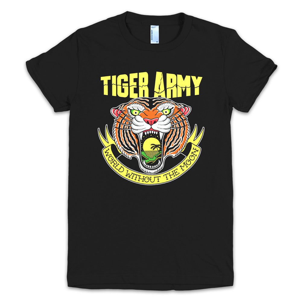 Tiger Army World Without The Moon T Womens