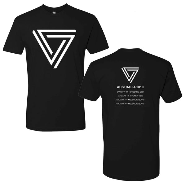 The Black Queen - 2019 Australian Tour T-shirt (Black)
