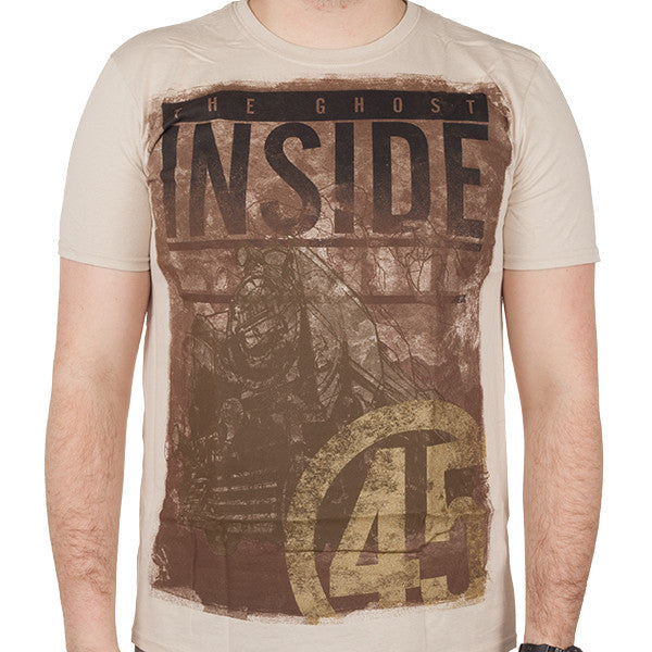 The Ghost Inside Engine 45 T-shirt Sand