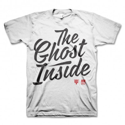 The Ghost Inside Cursive T-shirt White