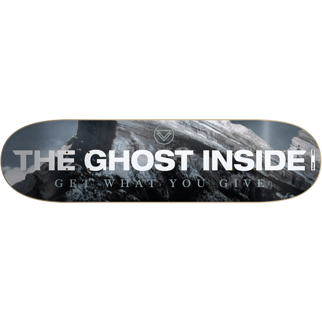 The Ghost Inside - Get What You Give Skate Deck (Limited Edition)