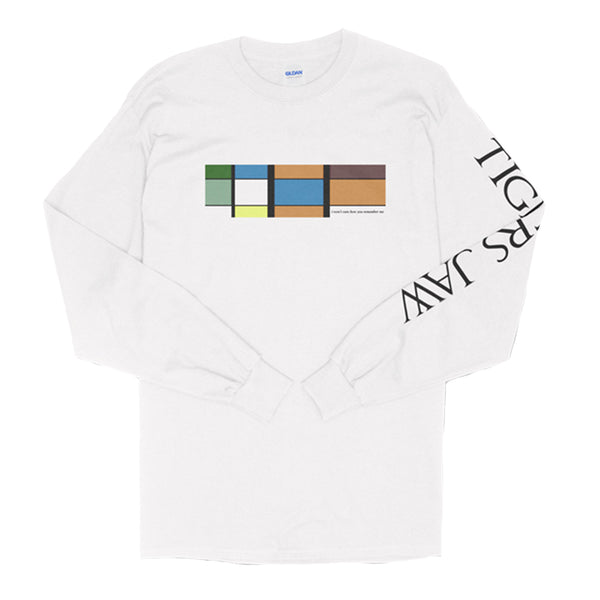 Tigers Jaw - Geo Longsleeve (White)