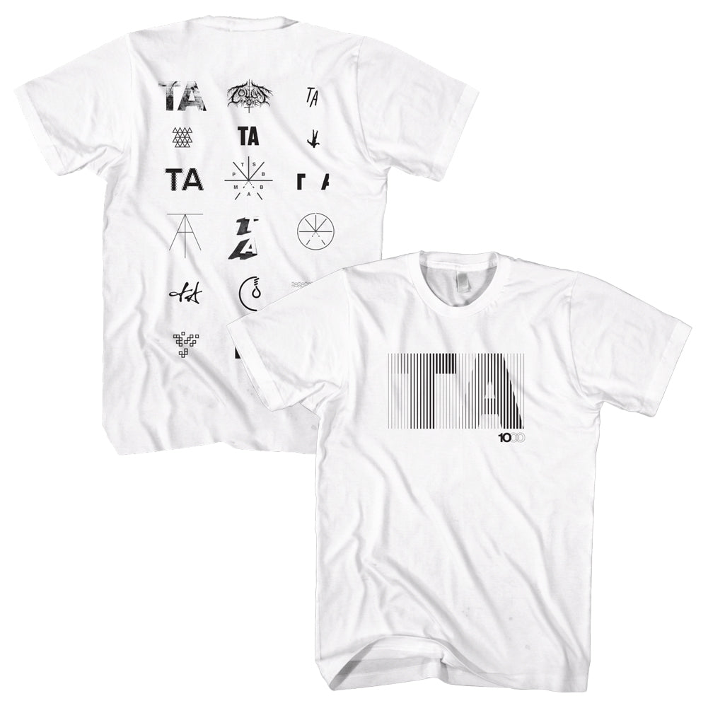Touche Amore - Icons T-shirt (White)