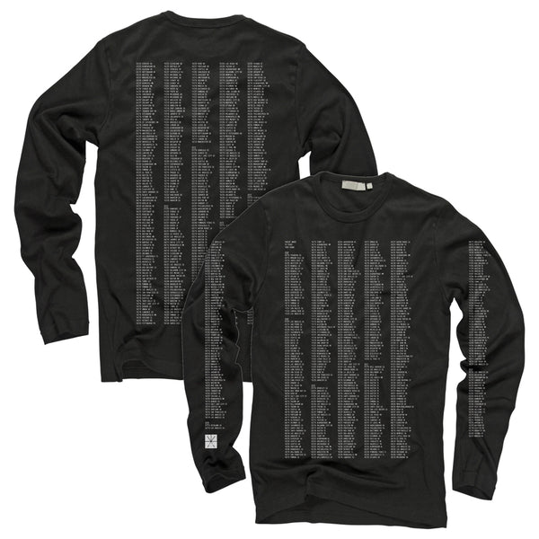 Touche Amore - Dateback Longsleeve (Black)