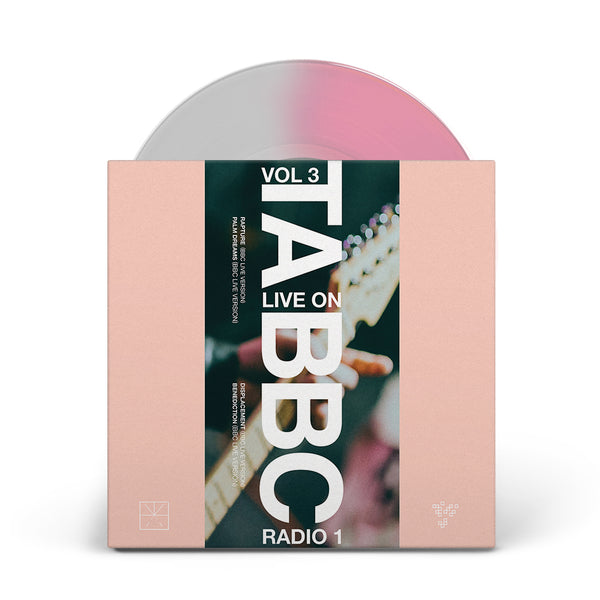 "Touche Amore - Live at The BBC Vol. 3 7"" Vinyl (Pink/Clear)"