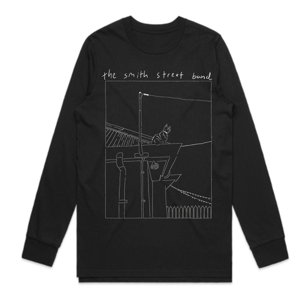 The Smith Street Band - Mouse The Cat Longsleeve (Black)
