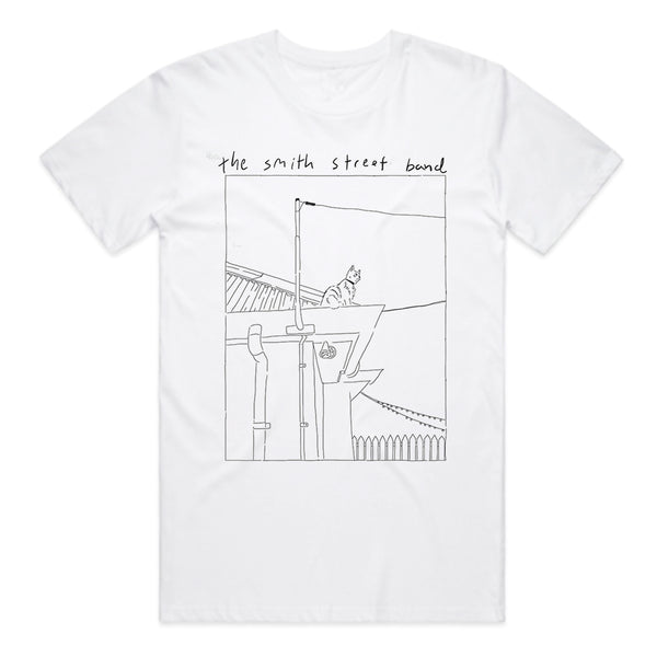 The Smith Street Band - Mouse The Cat Tee (White)