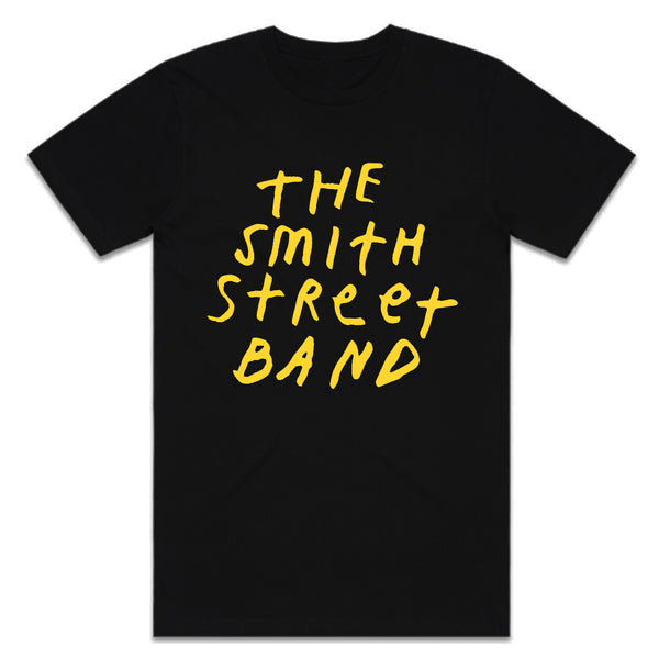 The Smith Street Band - New Logo Tee (Black)