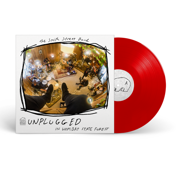 The Smith Street Band - Unplugged In Wombat State Forest LP (Red - AUS Exclusive)