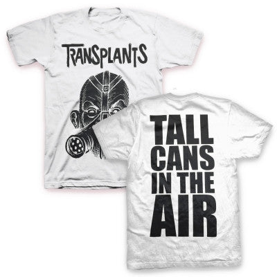 Tall Cans T-shirt (White)
