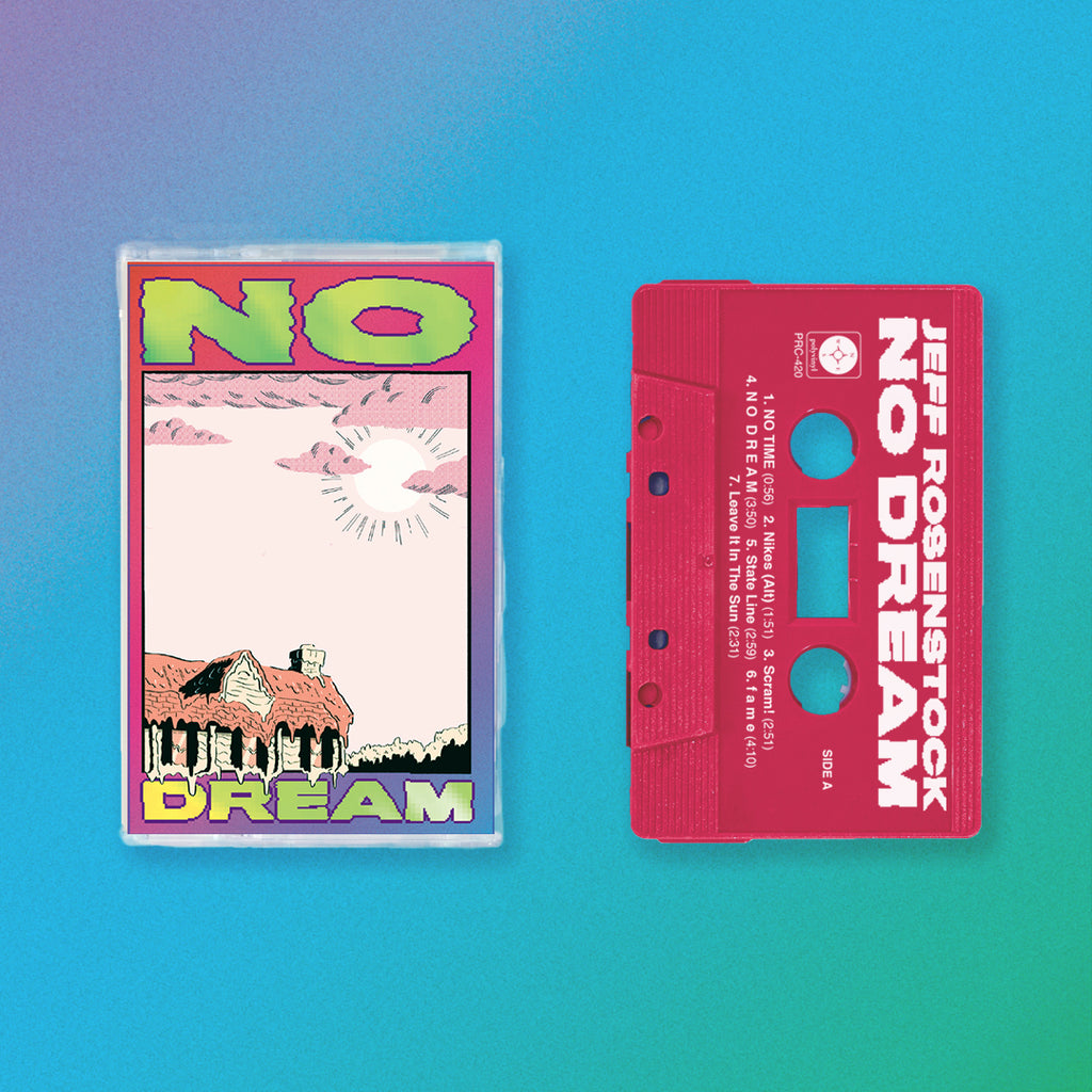 Jeff Rosenstock - NO DREAM Cassette (Rhodamine Red)