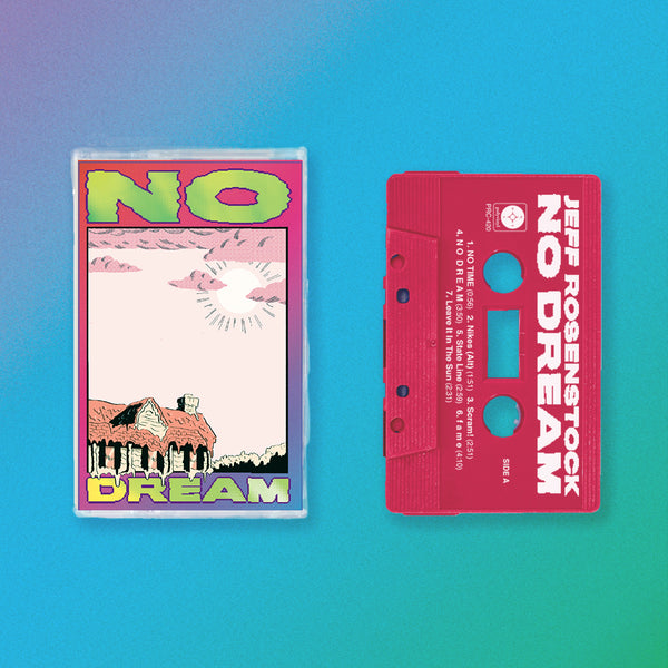 Jeff Rosenstock - NO DREAM Cassette (Rhodamine Red) + Tee