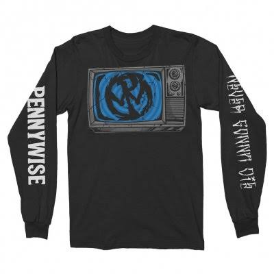 Pennywise - Television Longsleeve Tee (Black)