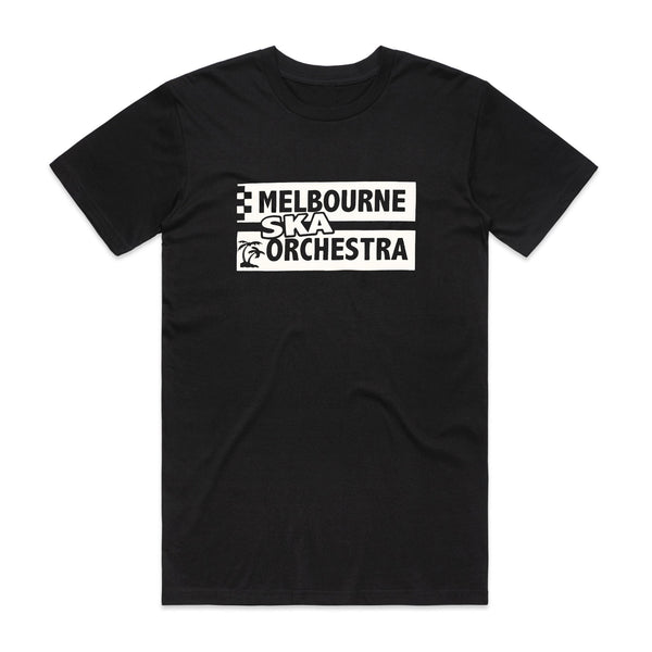 Melbourne Ska Orchestra - Text Logo T-shirt (Black)