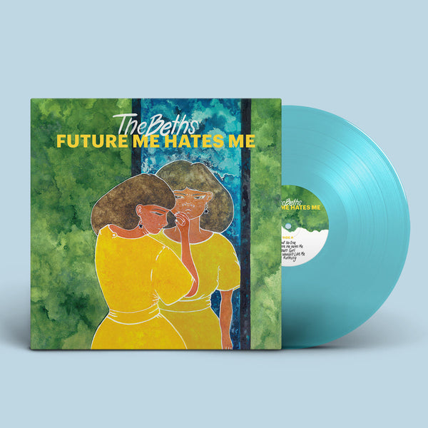 The Beths - Future Me Hates Me LP (Transparent Aqua)