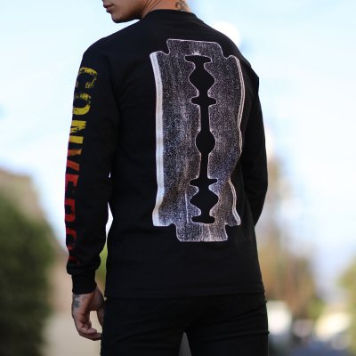 Converge - The Blade Longsleeve (Black) Back Photo