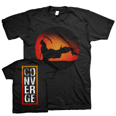 Converge - The End (Reaper) Tee (Black)