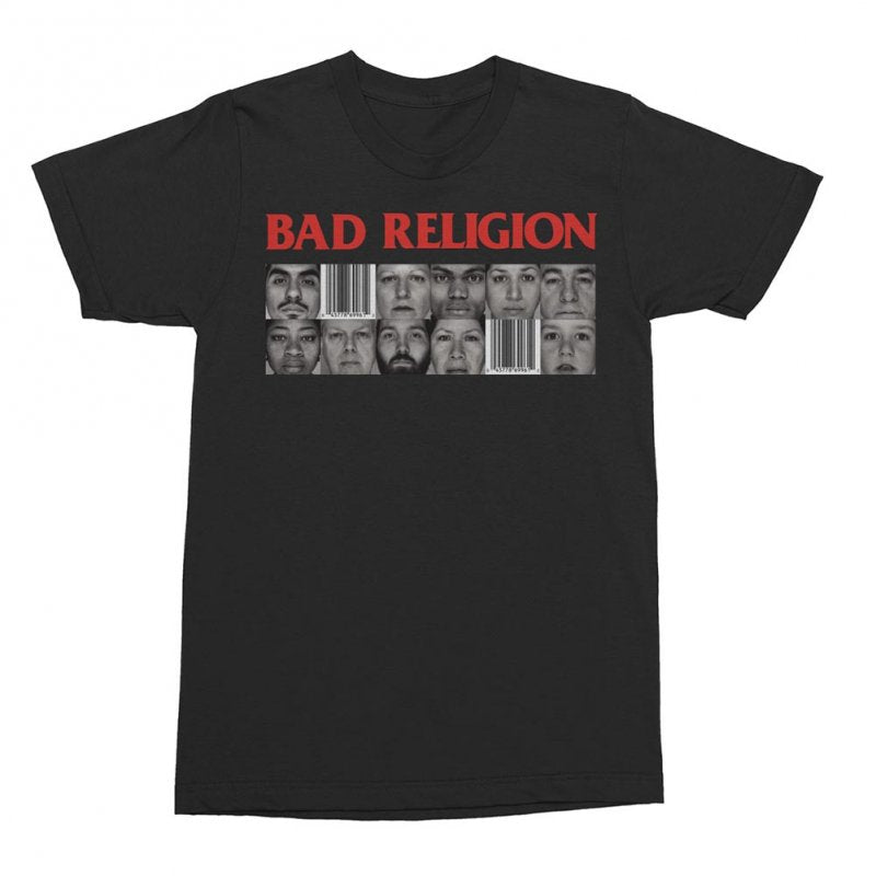 Bad Religion - The Gray Race Tee (Black)