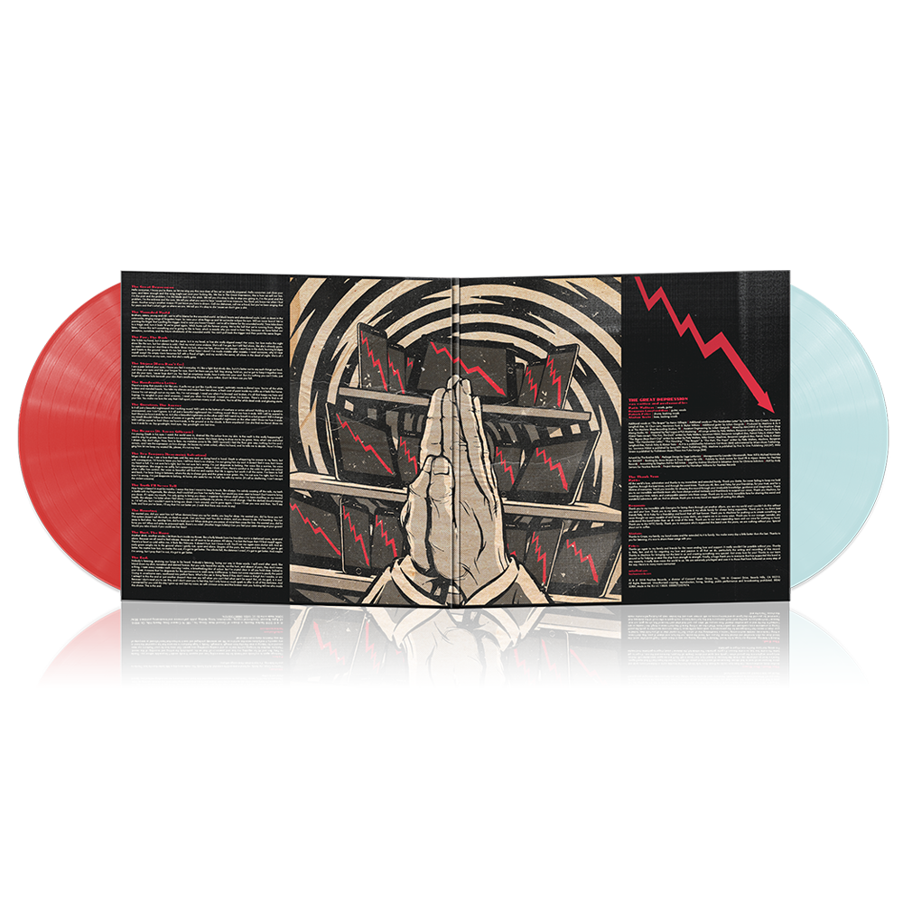 As It Is - The Great Depression 2LP (Red/Turquoise)