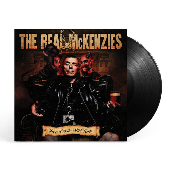The Real McKenzies - Two Devils Will Talk LP Black