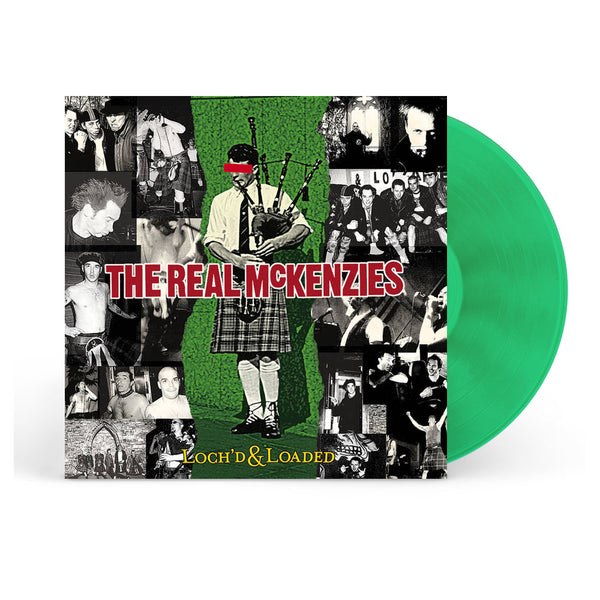 The Real McKenzies - Loch'd and Loaded LP (Green)