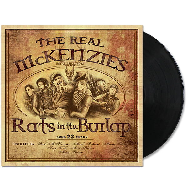 The Real McKenzies - Rats In The Burlap LP Black