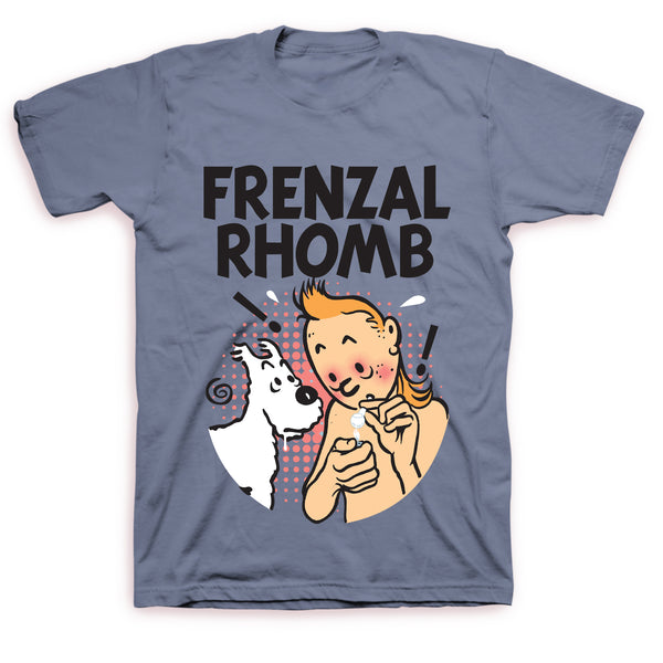 Frenzal Rhomb - Tin Tin Tee (Blue)