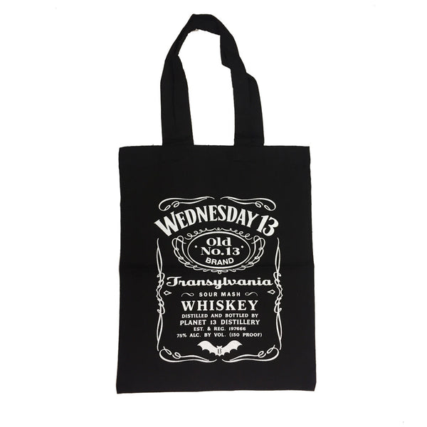Wednesday 13 - Whiskey Tote Bag