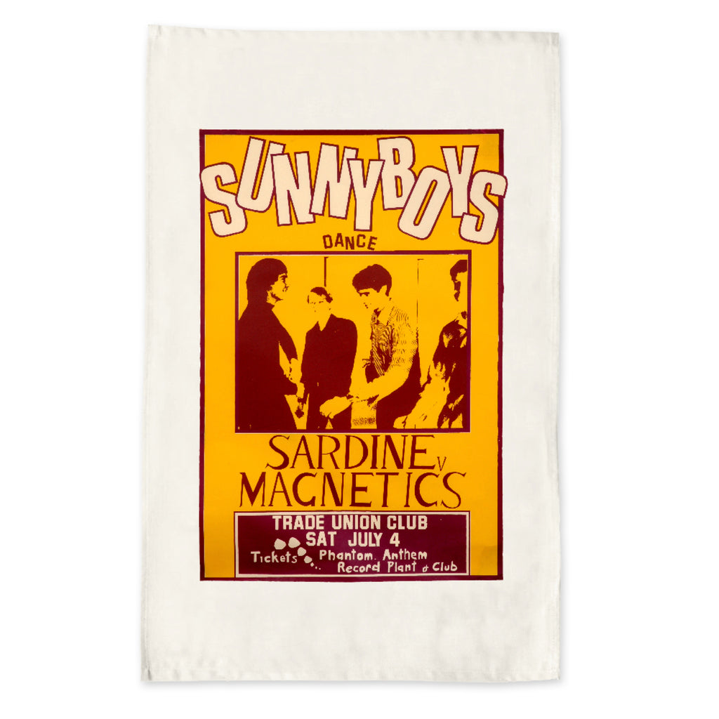 Sunnyboys - Trade Union Club Tea Towel