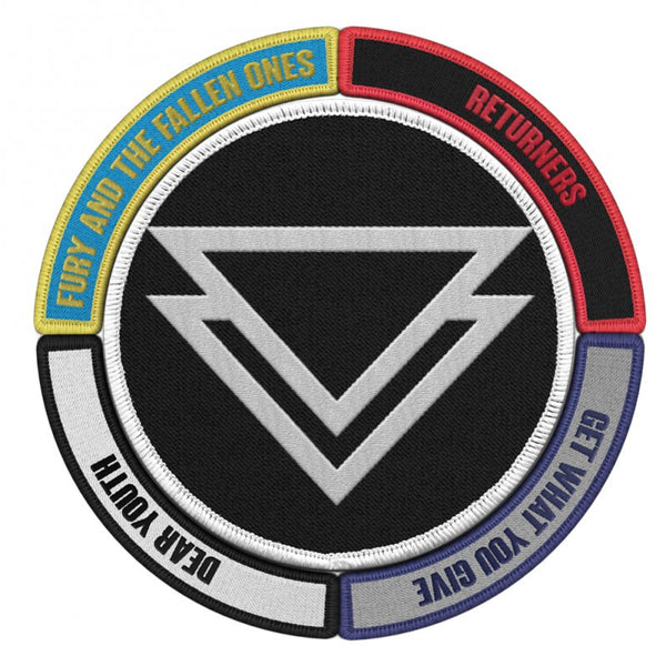 The Ghost Inside - Triangle Logo Patch + Album Patches