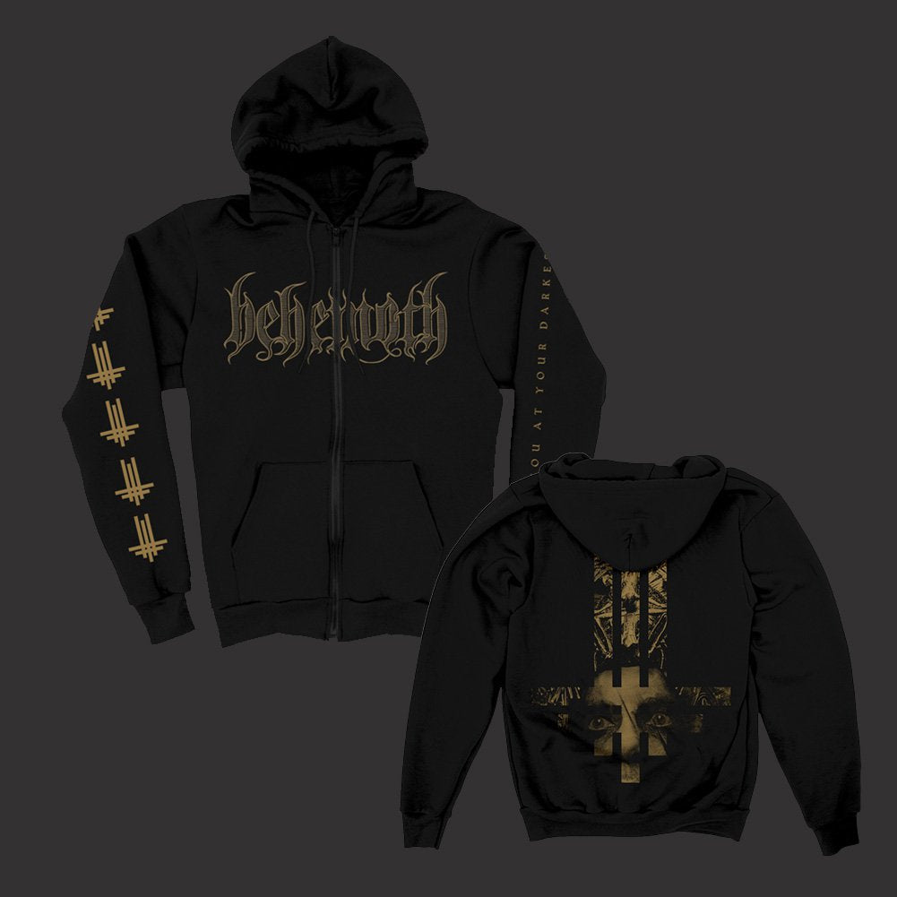 Triumviratus Zip Up Hoodie (Black)