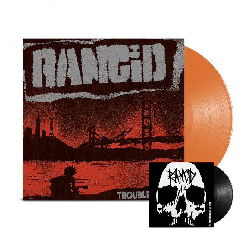 "Rancid - Trouble Maker LP Orange + 7"" Black"