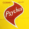 Cosmic Psychos Twisties T-shirt Yellow front detail